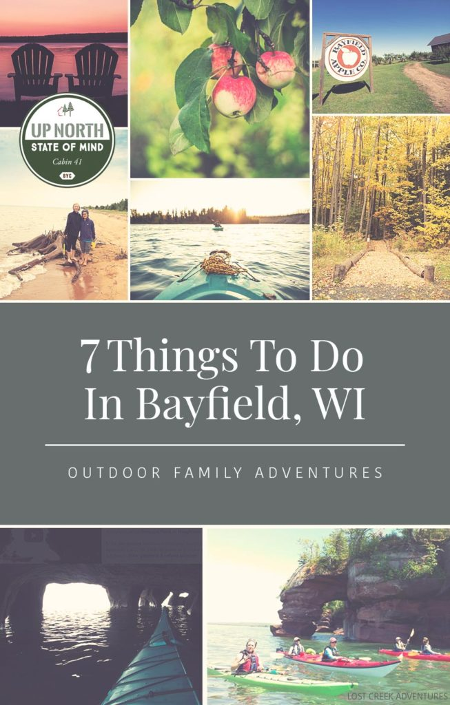 Want to travel this summer? Here are seven things to do in Bayfield, WI with your family on vacation! *Love this list
