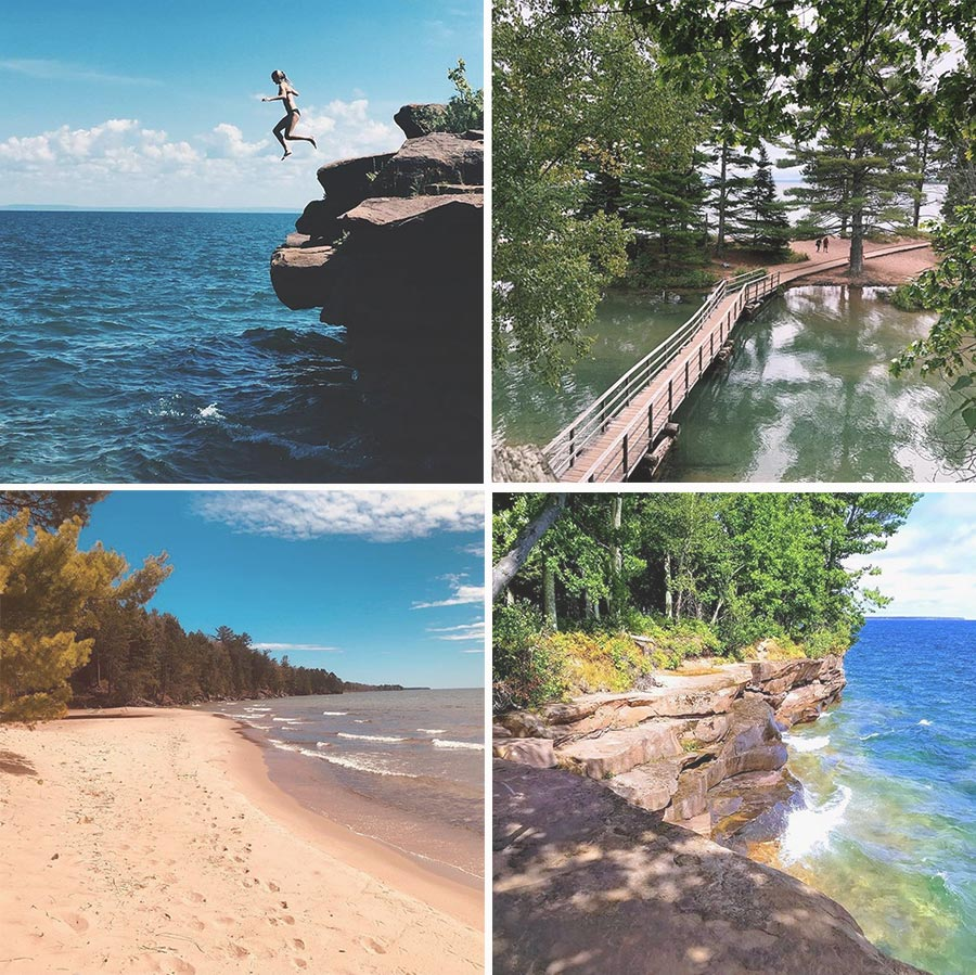 If you're looking for things to do in Bayfield, WI, you have to check out Big Bay State Park *Loving this list of ideas