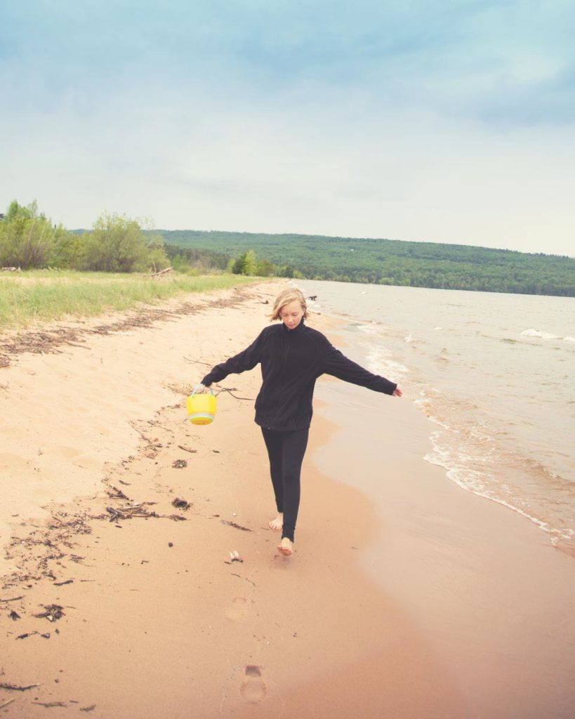 There are so many things to do in Bayfield, WI, including exploring miles of beaches along the Apostle Islands National Lakeshore *Loving this list of ideas