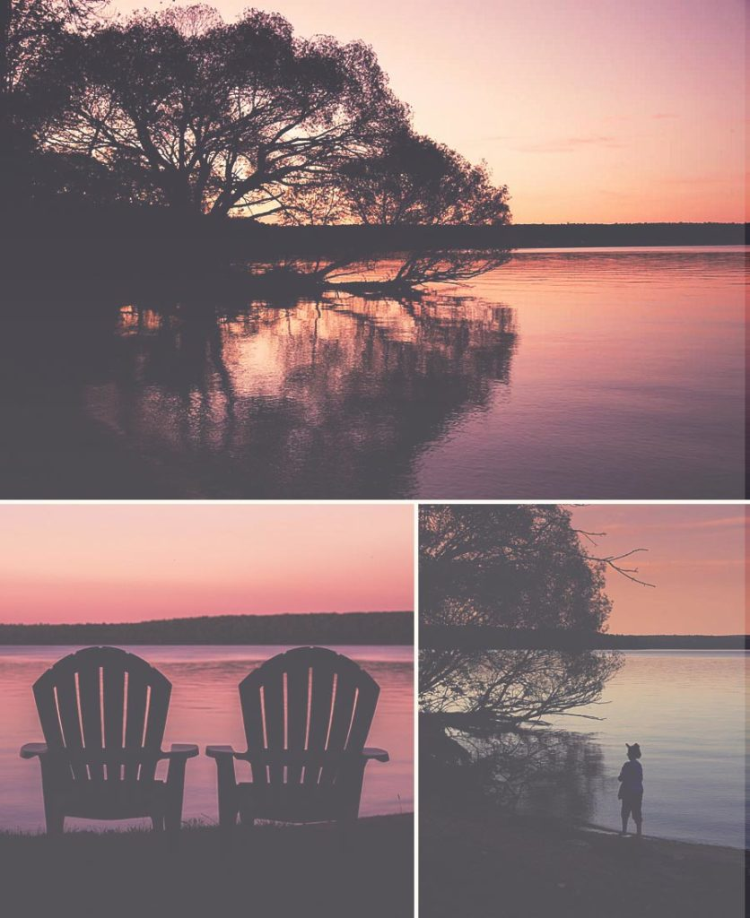Sip coffee as you watch the sunrise. Or watch the kids skip rocks in the lake as you watch the sunset reflect off the lake. *Loving this list of things to do in Bayfield, WI